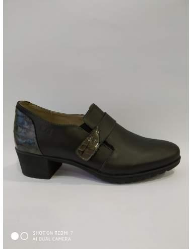 Zapato mujer velcro tacón 30s TREINTAS